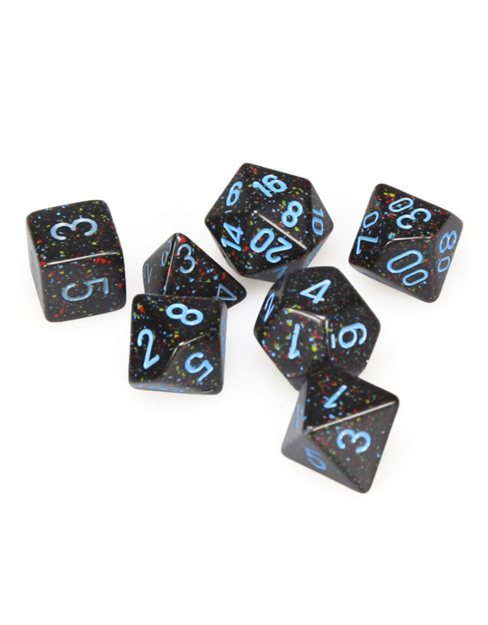 Chessex Chessex: Poly 7 Set - Speckled - Blue Stars