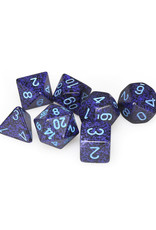 Chessex Chessex: Poly 7 Set - Speckled - Cobalt
