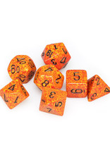 Chessex Chessex: Poly 7 Set - Speckled - Fire