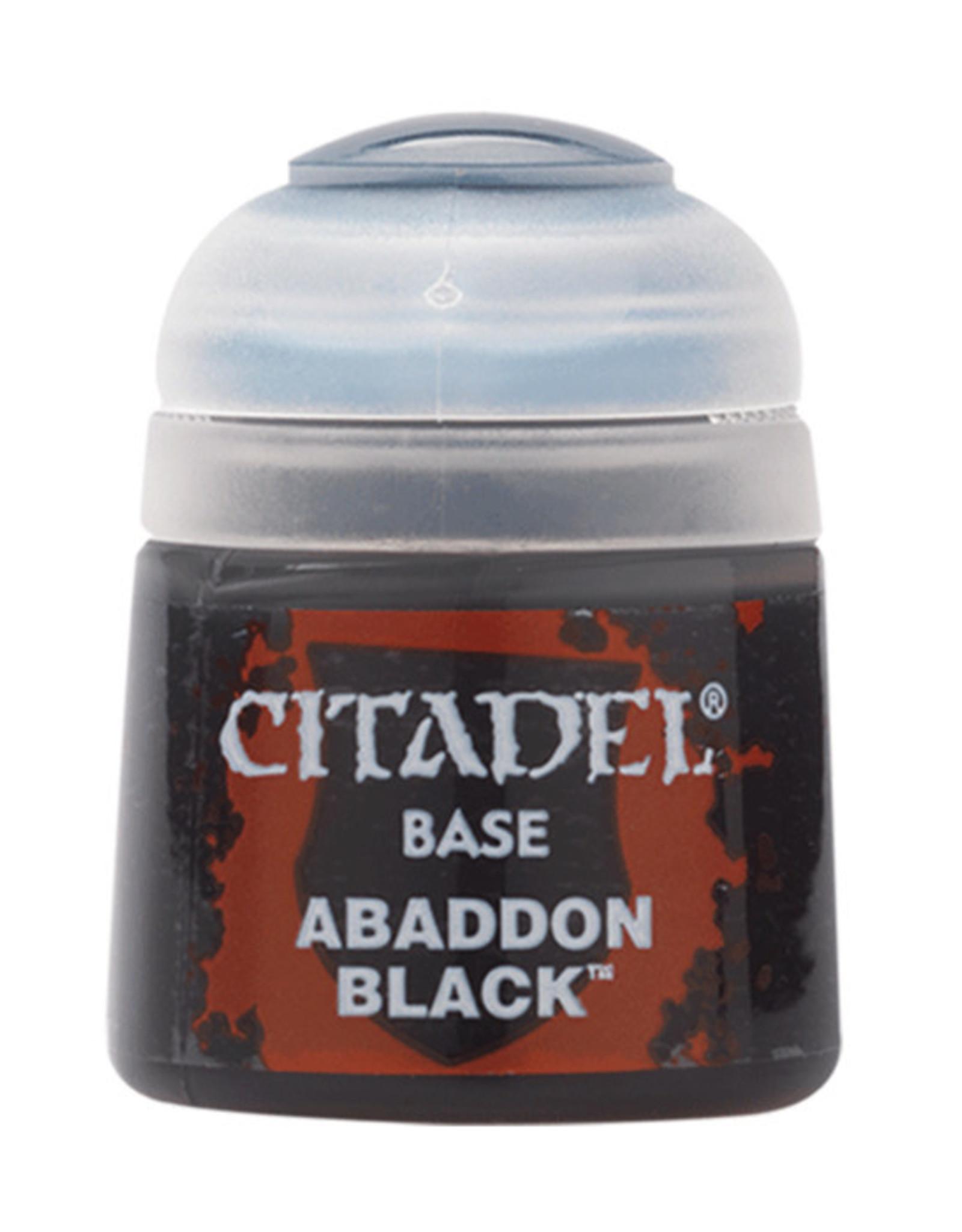Citadel Citadel Colour: Base - Abaddon Black