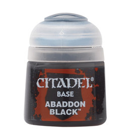 Citadel Citadel Colour: Base - Abaddon Black