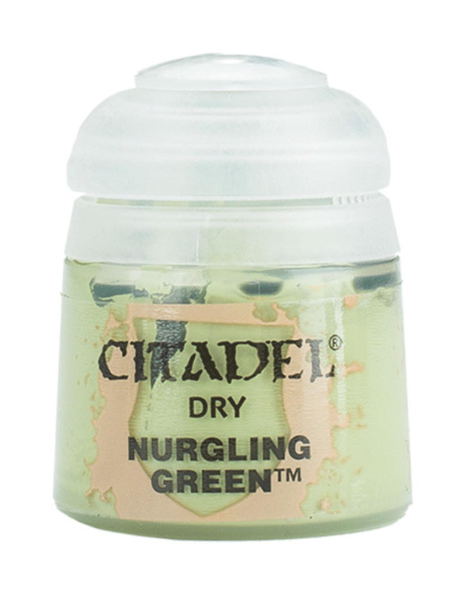 Citadel Citadel Colour: Dry - Nurgling Green