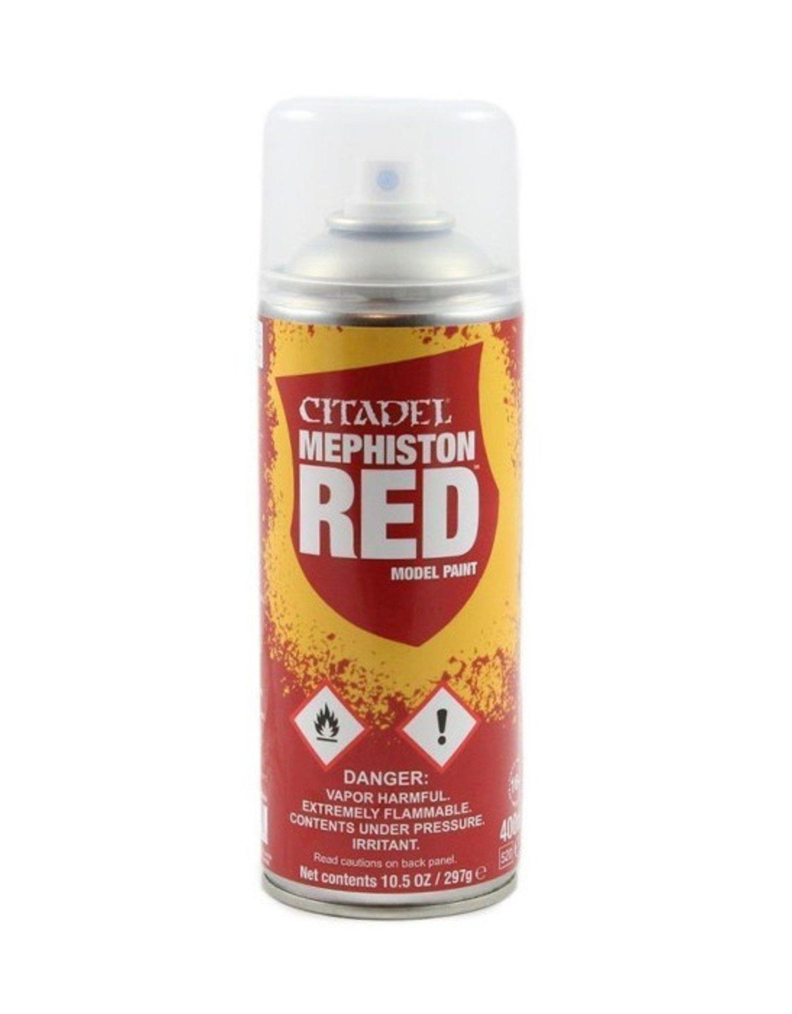 Citadel Citadel Colour: Spray - Mephiston Red