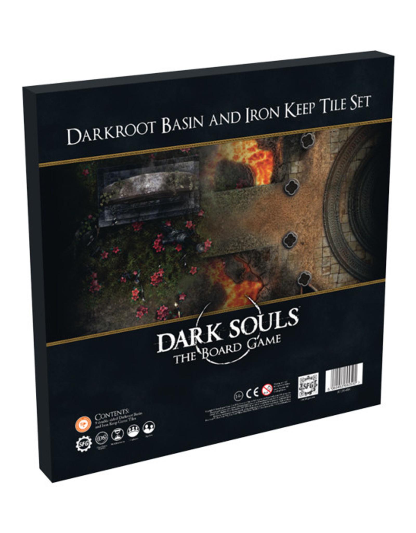 Dark Souls: The Board Game - Tile Set - Darkroot Basin and Iron Keep