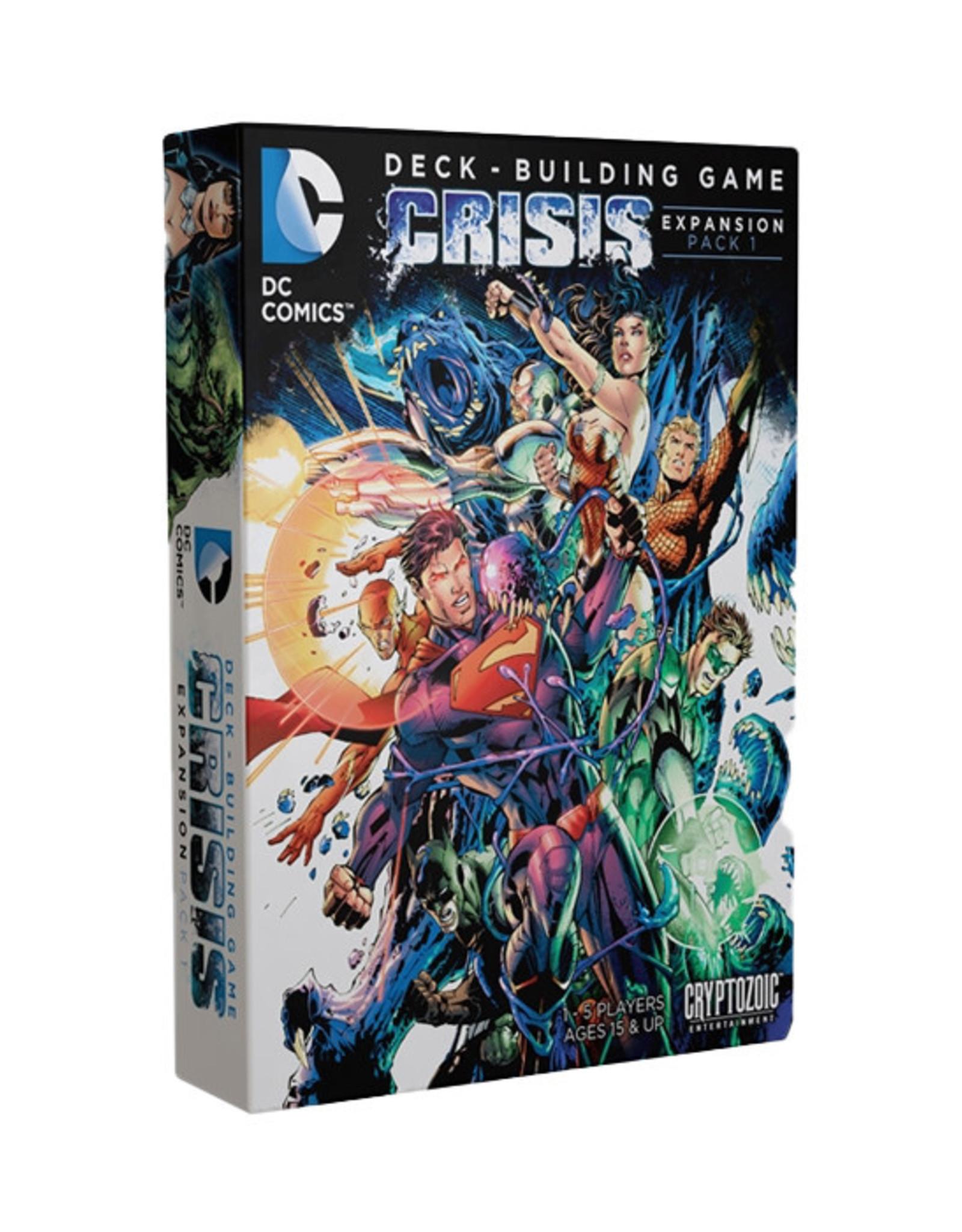 DC Deck Building Game: Crisis - Expansion Pack 1