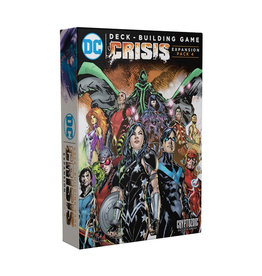 DC Deck Building Game: Crisis - Expansion Pack 4