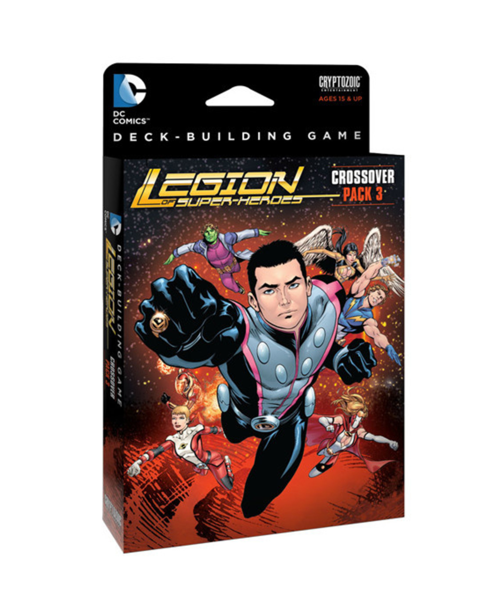DC Deck Building Game: Crossover Pack 3 - Legion of Super-Heroes