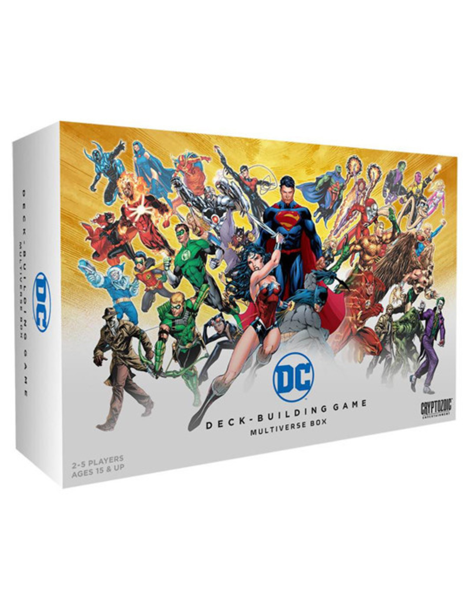 DC Deck Building Game: Multiverse Box