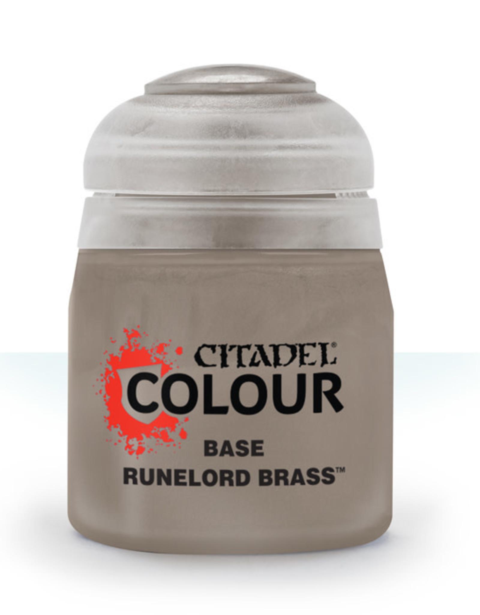 Citadel Citadel Colour: Base - Runelord Brass