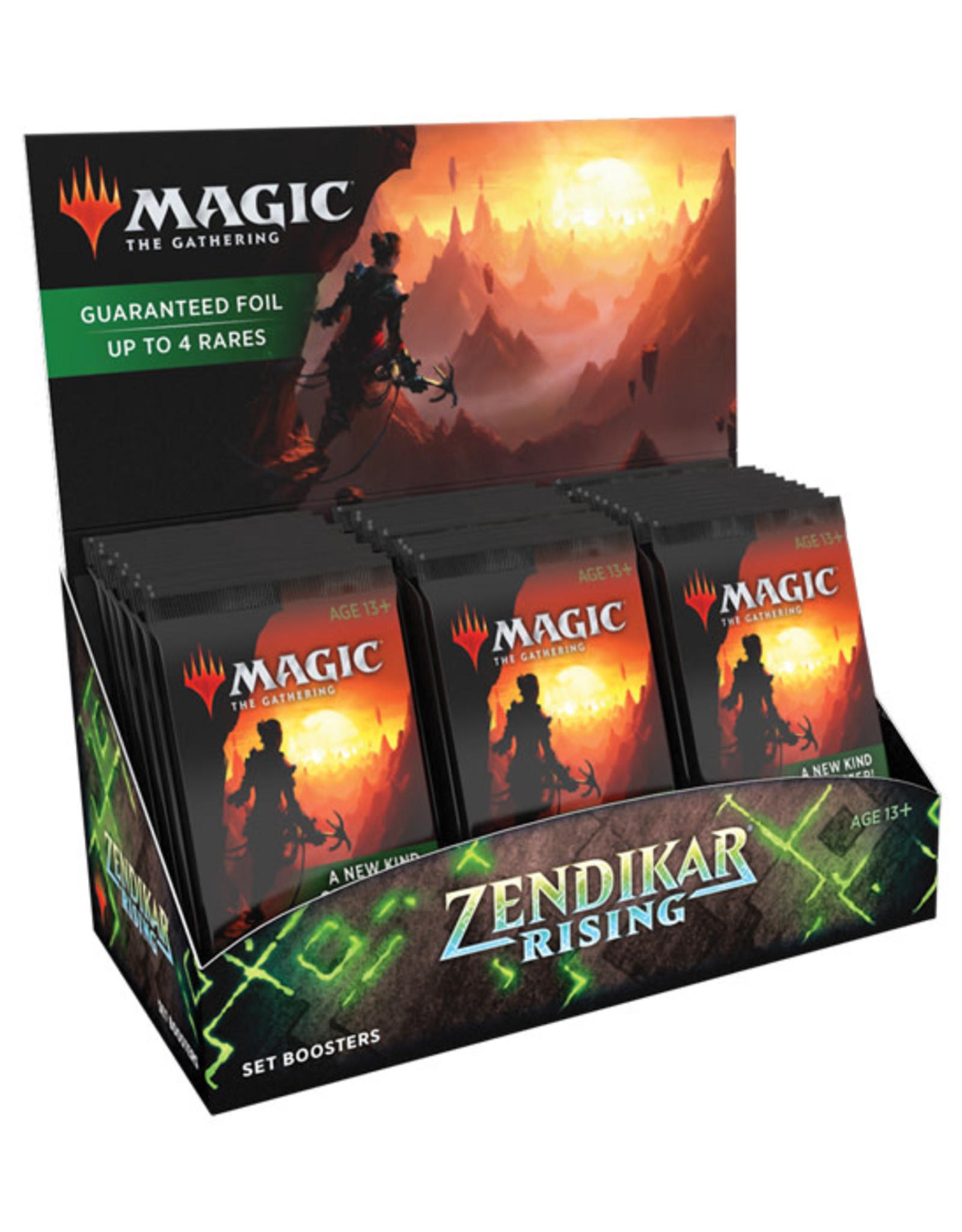 Magic: The Gathering Magic: The Gathering - Zendikar Rising - Set Booster Box