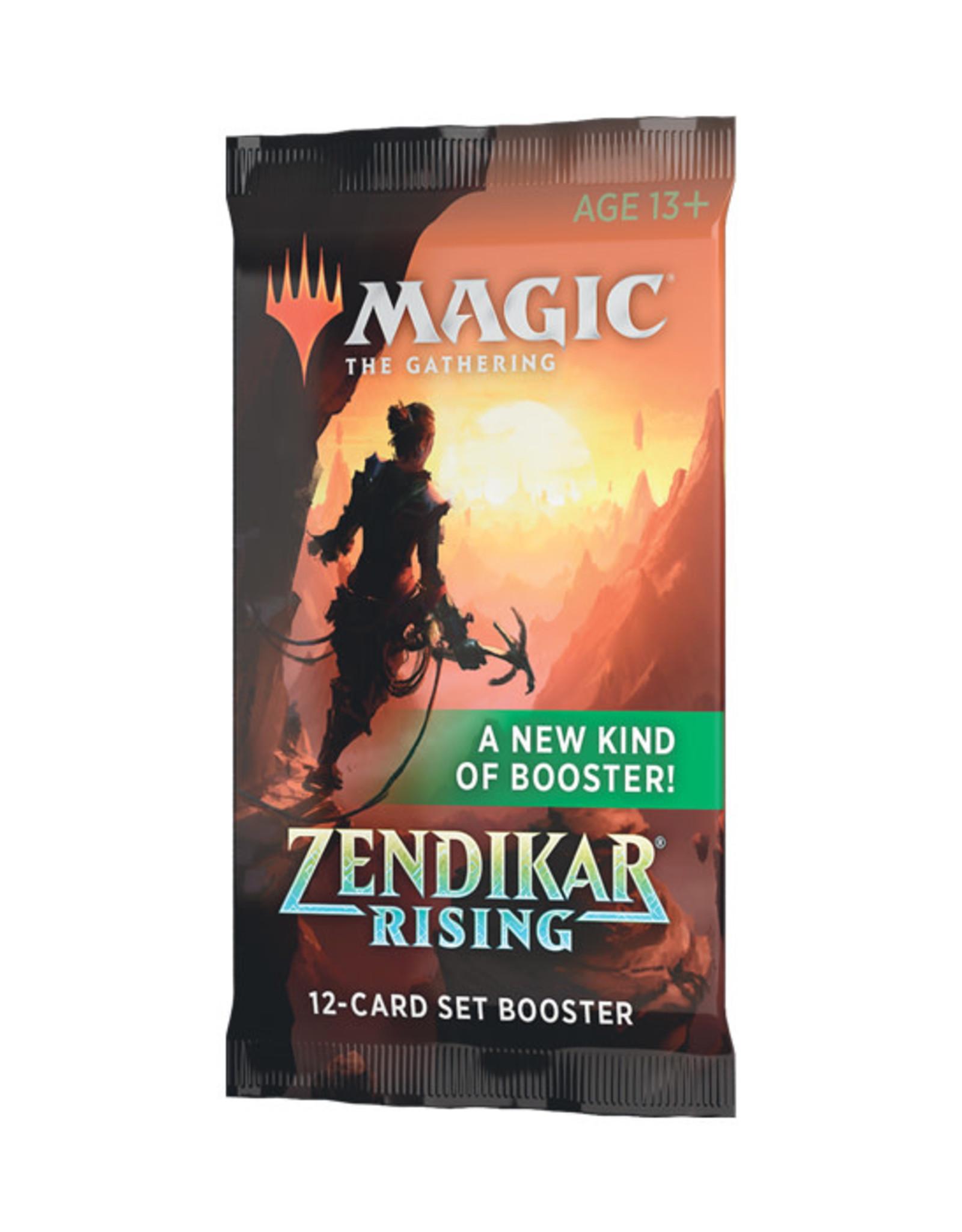 Magic: The Gathering Magic: The Gathering - Zendikar Rising - Set Booster Pack