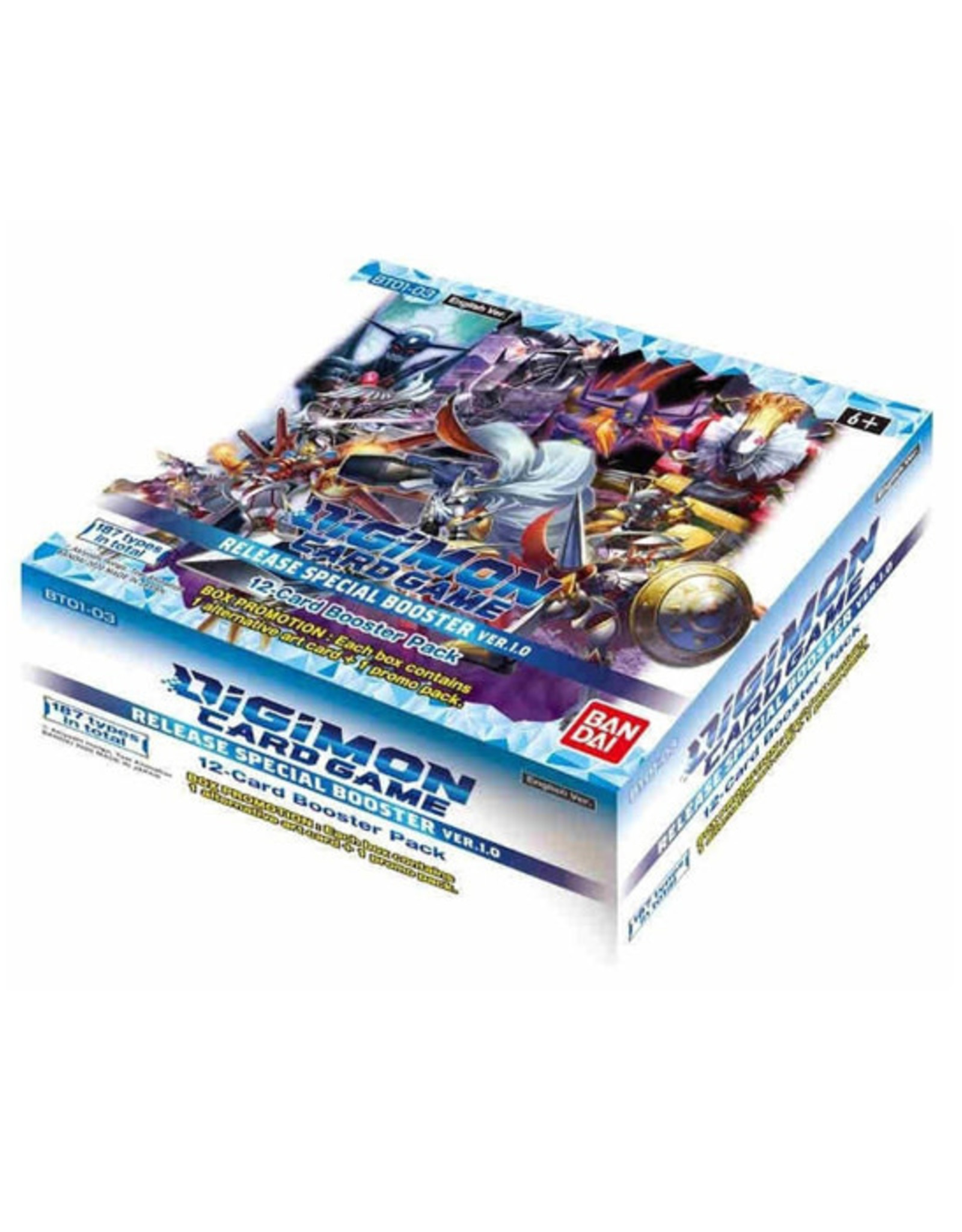 Bandai Digimon TCG: Release Special Ver. 1.0 - Booster Box