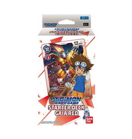 Bandai Digimon TCG: Starter Deck - Gaia Red