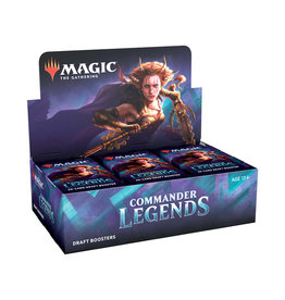 Magic: The Gathering Magic: The Gathering - Commander Legends - Draft Booster Box