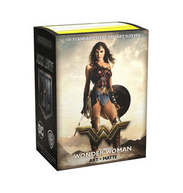 Dragon Shield Dragon Shield: Sleeves - Art - Standard - Justice League - Matte Wonder Woman (100)