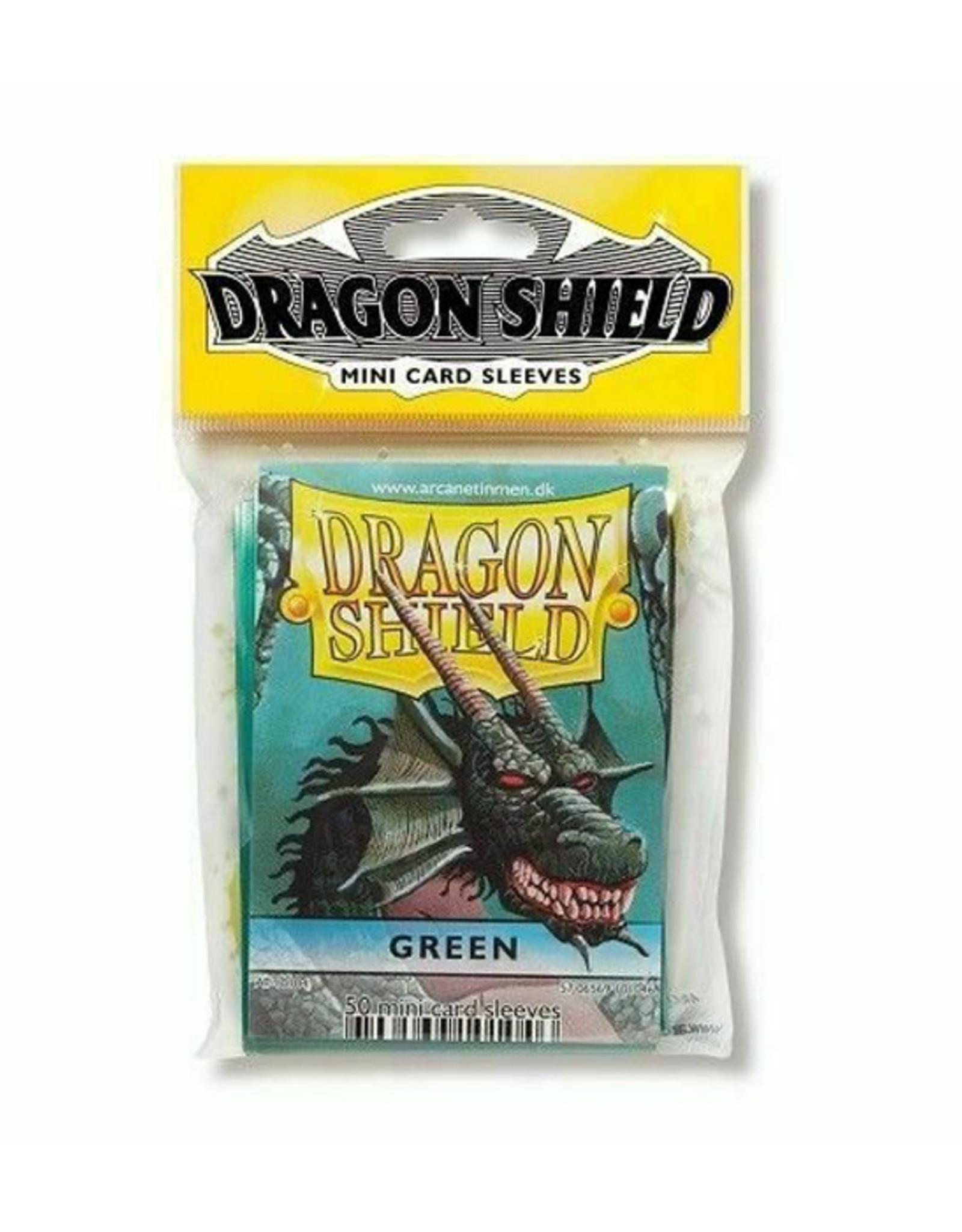 Dragon Shield Dragon Shield: Sleeves - Mini - Green (50)