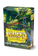 Dragon Shield Dragon Shield: Sleeves - Mini - Matte Apple Green (60)