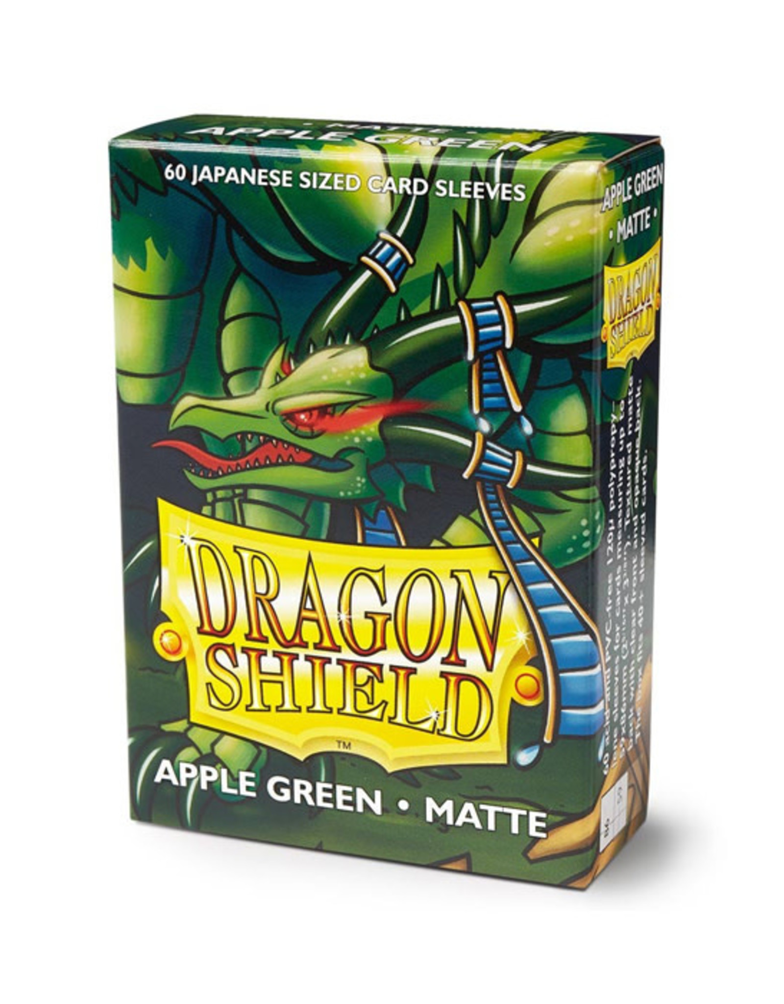 Dragon Shield Dragon Shield: Sleeves - Mini - Matte Apple Green (60)