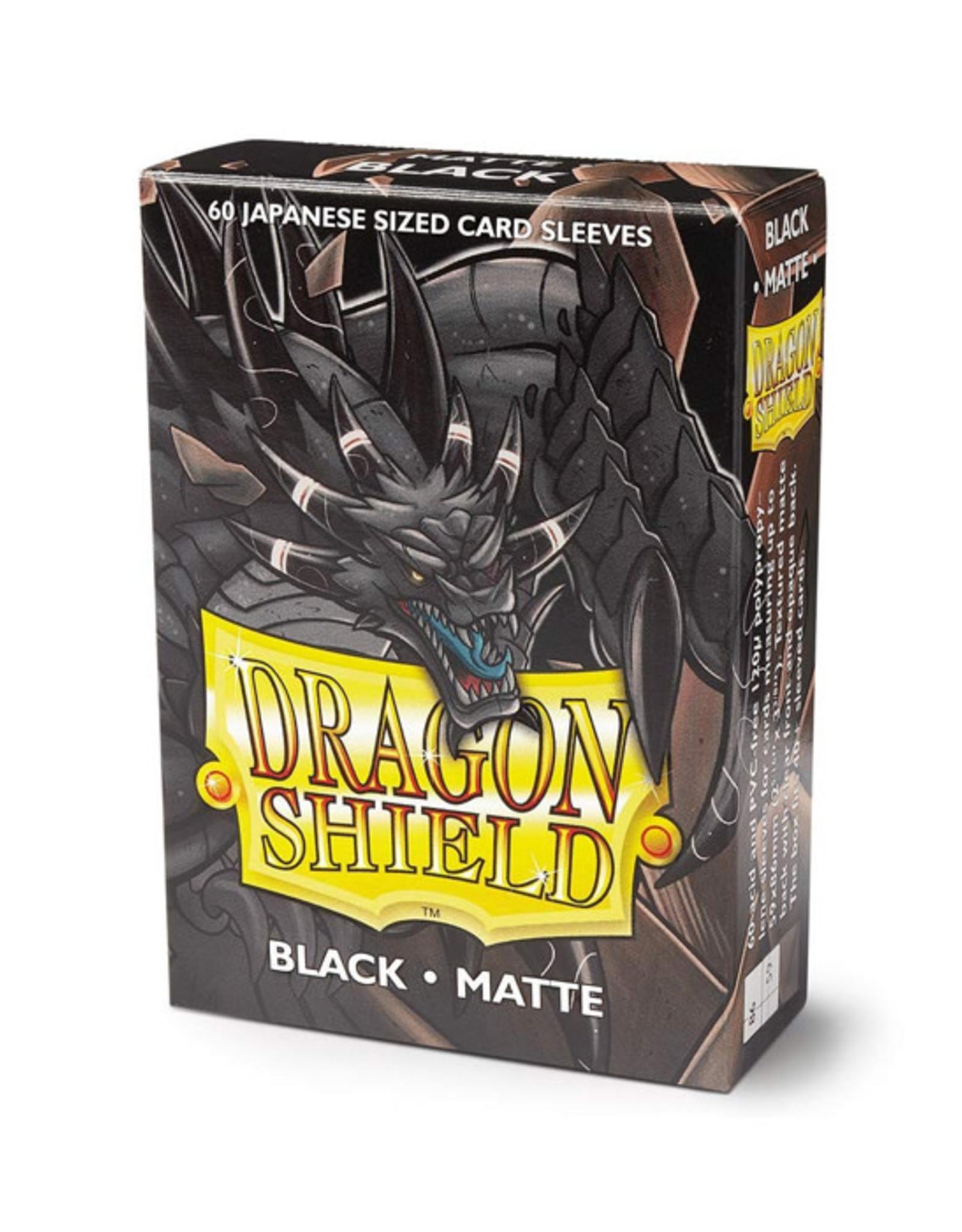 Dragon Shield Dragon Shield: Sleeves - Small - Matte - Black (60)