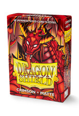 Dragon Shield Dragon Shield: Sleeves - Small - Matte - Crimson (60)