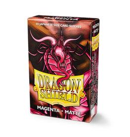 Dragon Shield Dragon Shield: Sleeves - Mini - Matte Magenta
