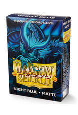 Dragon Shield Dragon Shield: Sleeves - Mini - Matte Night Blue (60)