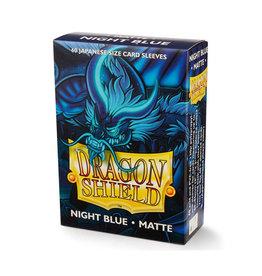 Dragon Shield Dragon Shield: Sleeves - Mini - Matte Night Blue (60)