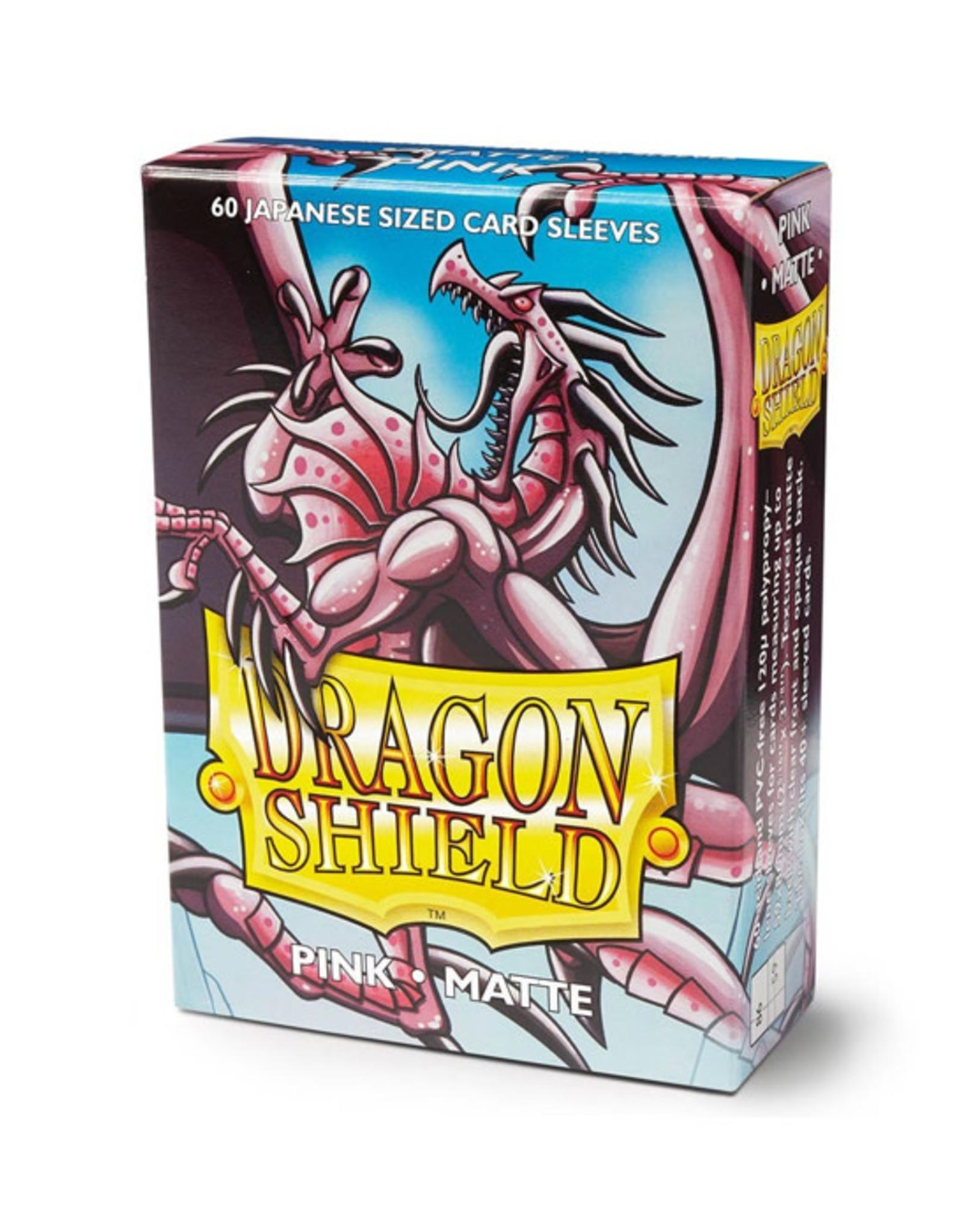 Dragon Shield Dragon Shield: Sleeves - Mini - Matte Pink (60)
