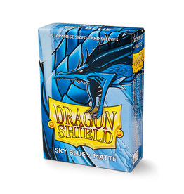 Dragon Shield Dragon Shield: Sleeves - Mini - Matte Sky Blue (60)