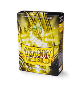 Dragon Shield Dragon Shield: Sleeves - Mini - Matte Yellow (60)