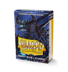 Dragon Shield Dragon Shield: Sleeves - Mini - Night Blue (60)