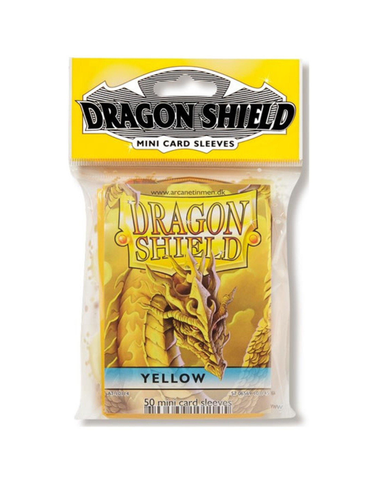 Dragon Shield Dragon Shield: Sleeves - Mini - Yellow (50)