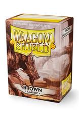 Dragon Shield: Sleeves - Standard - Brown (100)
