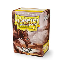 Dragon Shield Dragon Shield: Sleeves - Standard - Brown (100)