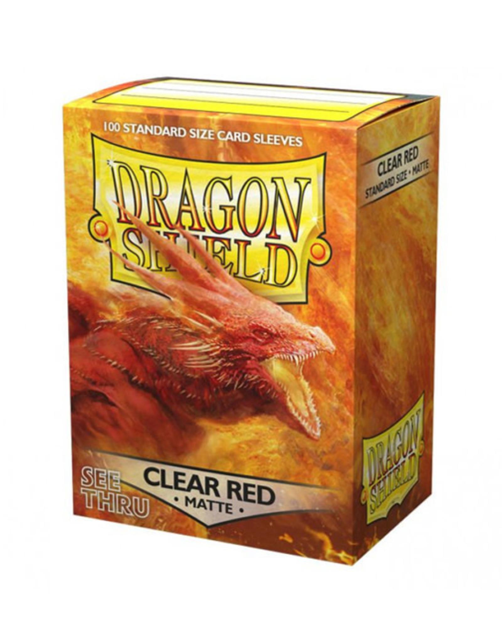 Dragon Shield Dragon Shield: Sleeves - Standard - Matte Clear Red (100)
