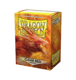 Dragon Shield Dragon Shield: Sleeves - Standard - Matte Clear Red (100)