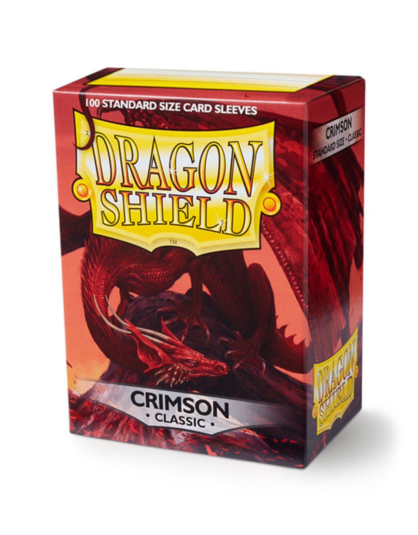 Dragon Shield Dragon Shield: Sleeves - Standard - Crimson (100)