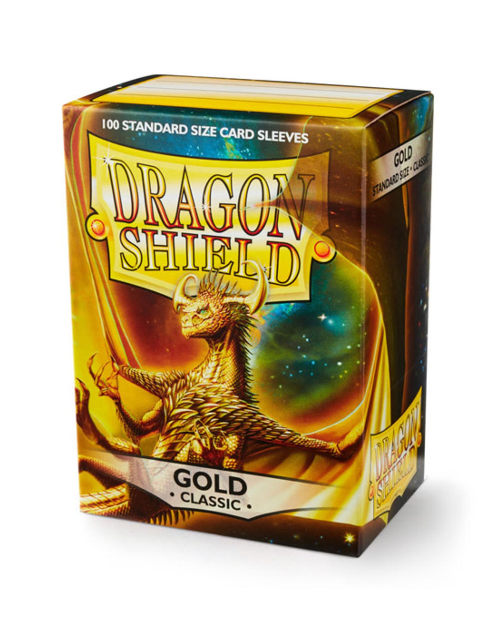 Dragon Shield Dragon Shield: Sleeves - Standard - Gold (100)
