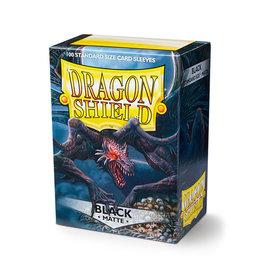 Dragon Shield Dragon Shield: Sleeves - Standard - Matte Black (100)