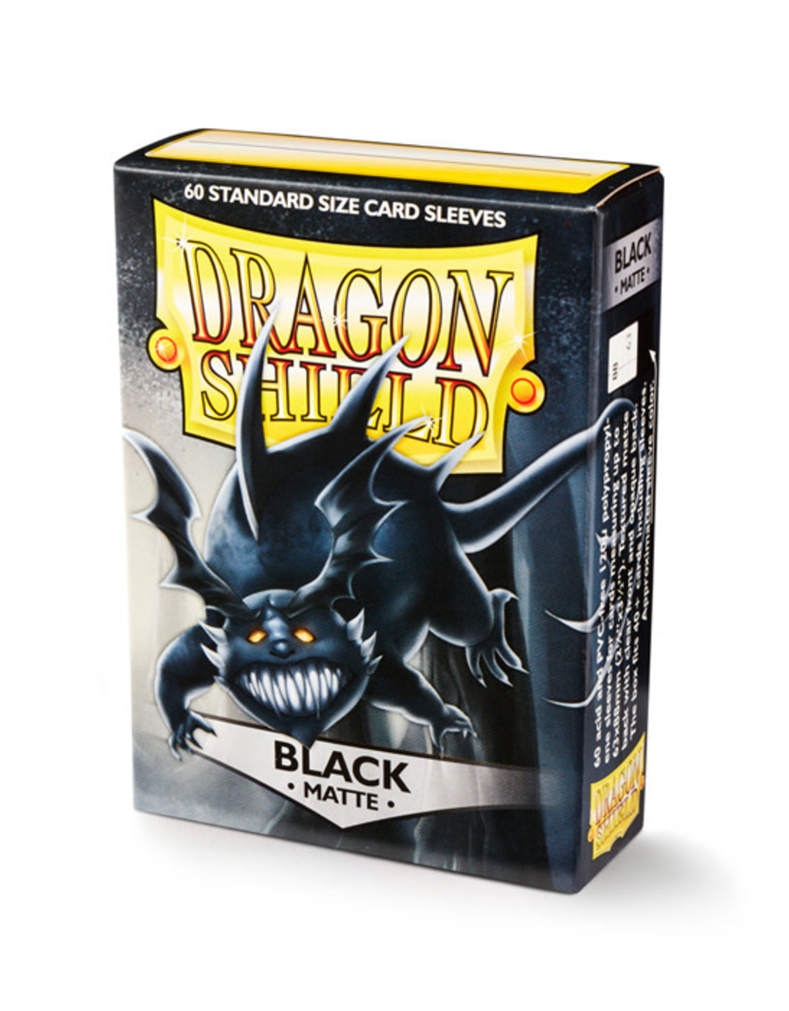 Dragon Shield Dragon Shield: Sleeves - Standard - Matte Black (60)