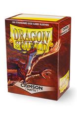 Dragon Shield Dragon Shield: Sleeves - Standard - Matte Crimson (100)