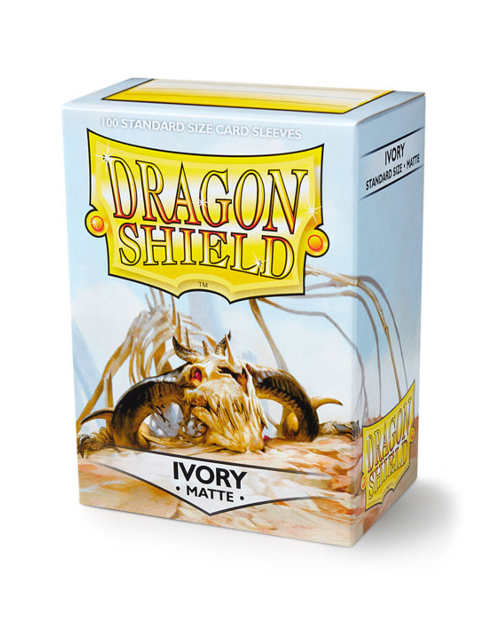 Dragon Shield Dragon Shield: Sleeves - Standard - Matte Ivory (100)
