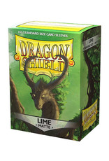 Dragon Shield Dragon Shield: Sleeves - Standard - Matte Lime (100)