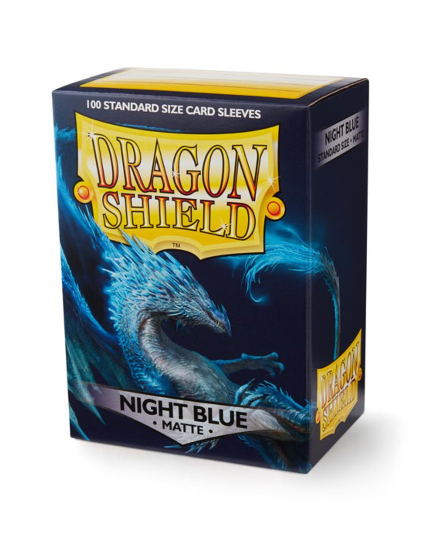 Dragon Shield Dragon Shield: Sleeves - Standard - Matte Night Blue (100)