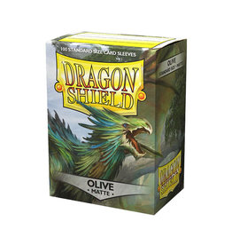 Dragon Shield Dragon Shield: Sleeves - Standard - Matte Olive (100)