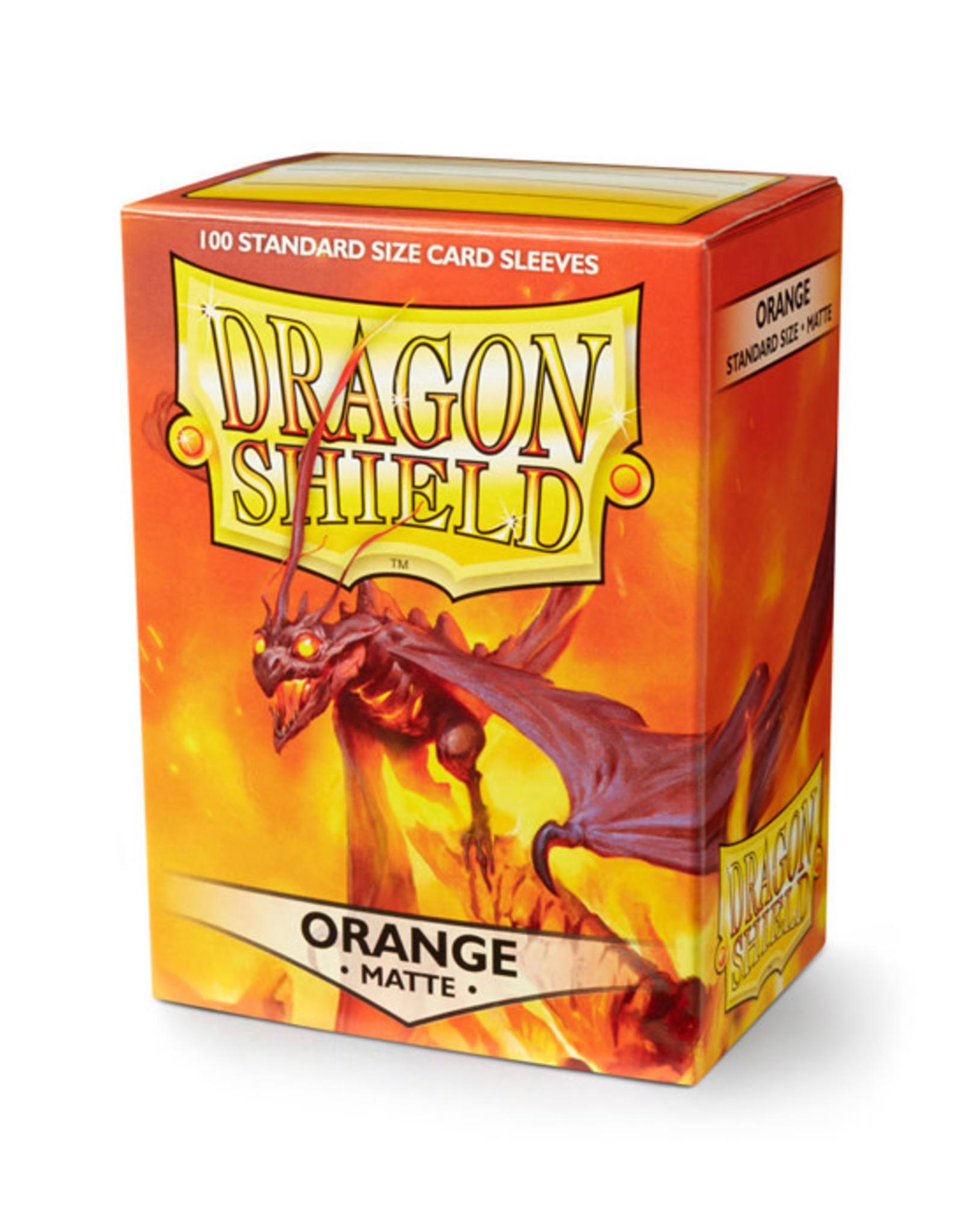 Dragon Shield Dragon Shield: Sleeves - Standard - Matte Orange (100)