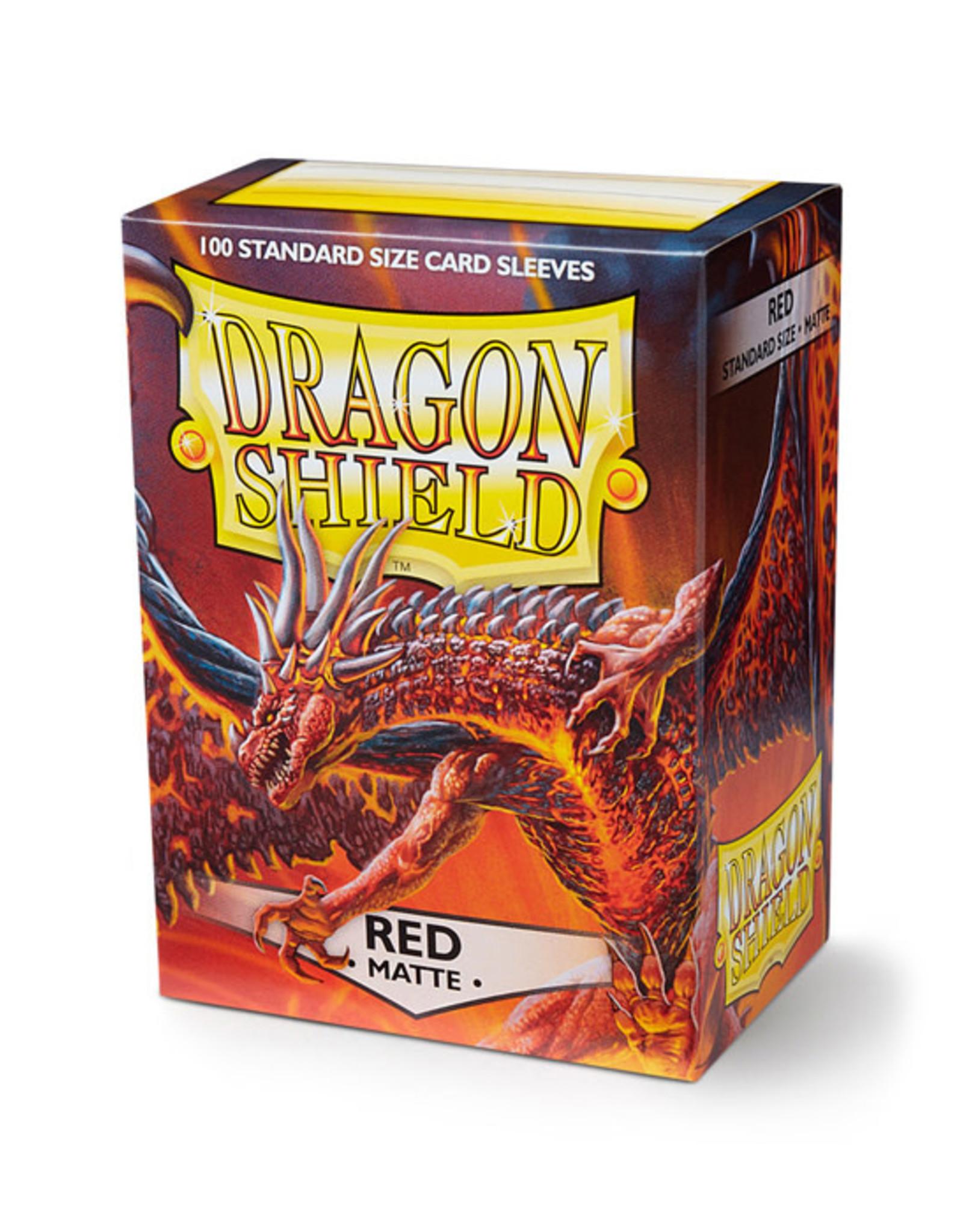 Dragon Shield Dragon Shield: Sleeves - Standard - Matte Red (100)