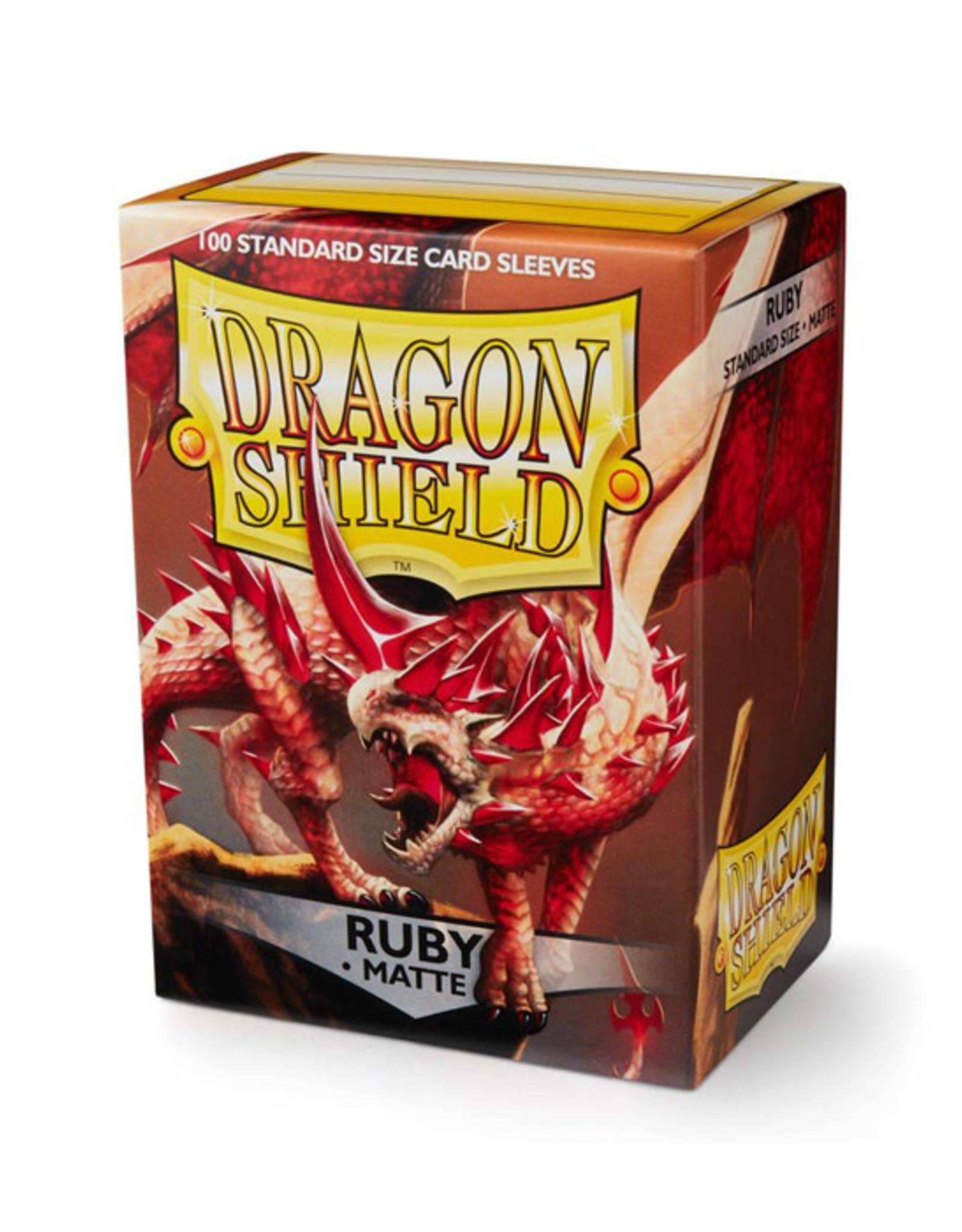 Dragon Shield Dragon Shield: Sleeves - Standard - Matte Ruby (100)