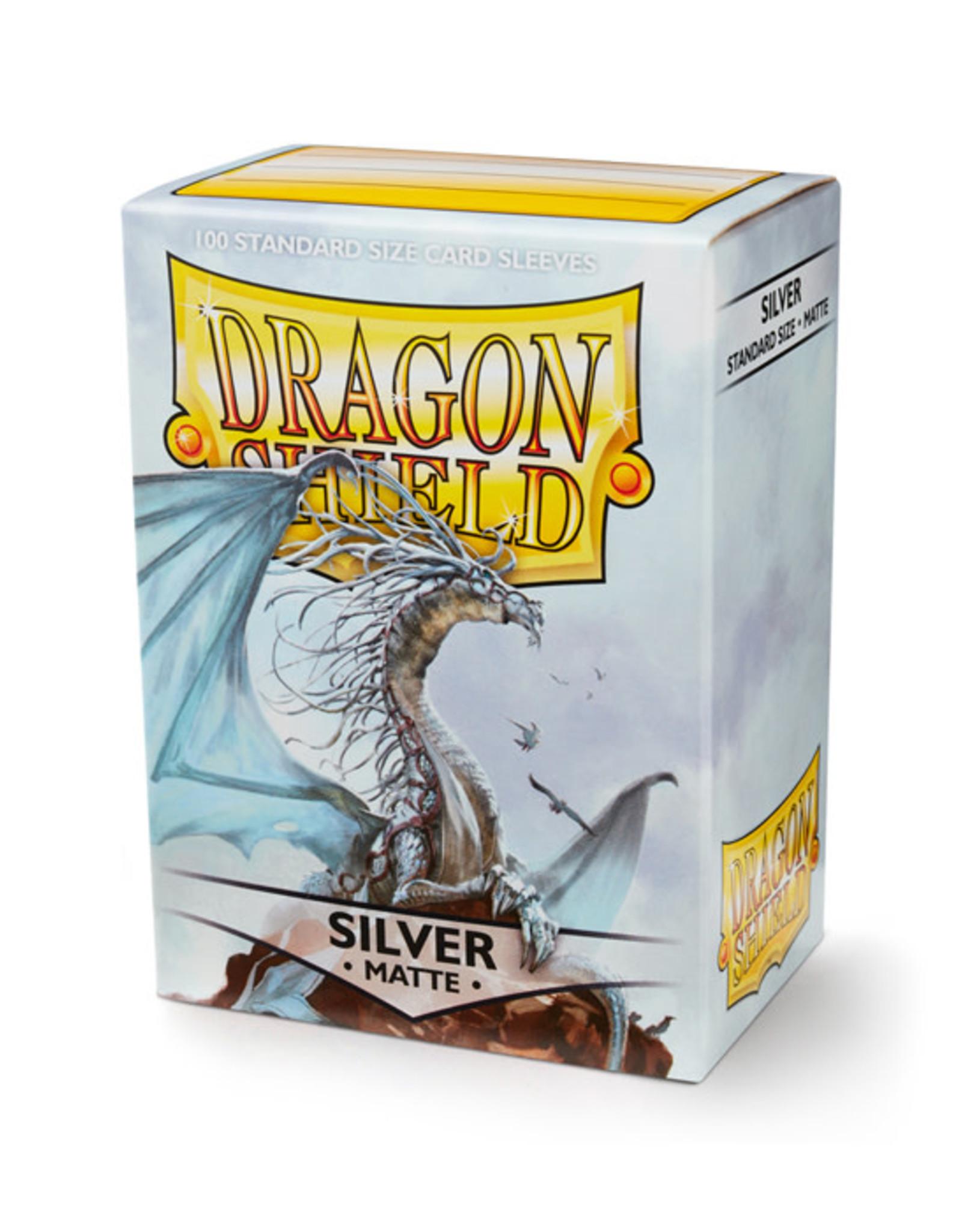 Dragon Shield Dragon Shield: Sleeves - Standard - Matte Silver (100)