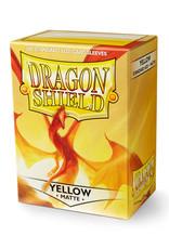 Dragon Shield Dragon Shield: Sleeves - Standard - Matte Yellow (100)